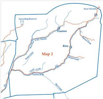 Dolores River Colorado Map.Area Activities Echo Basin Ranch